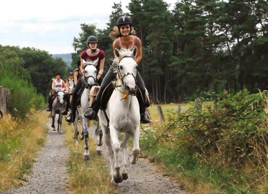 Randonnées à cheval lot et corrèze