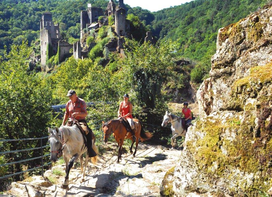 Randonnées à cheval dordogne